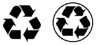 Recyclable Recycled Symbols